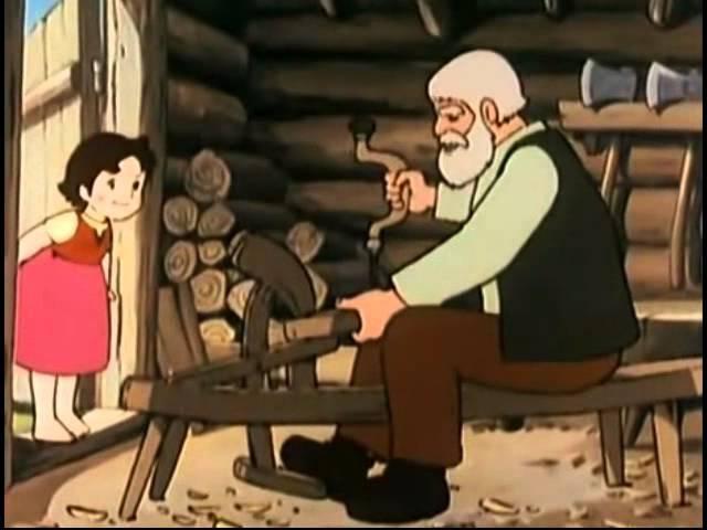 Heidi, capítulo 2 En casa del abuelo