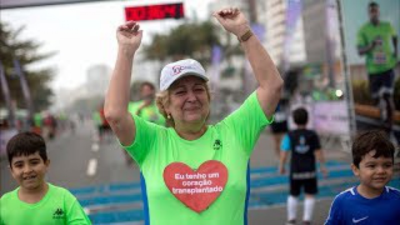 67-летняя бразильянка занялась спортом, получив сердце олимпийца (новости)