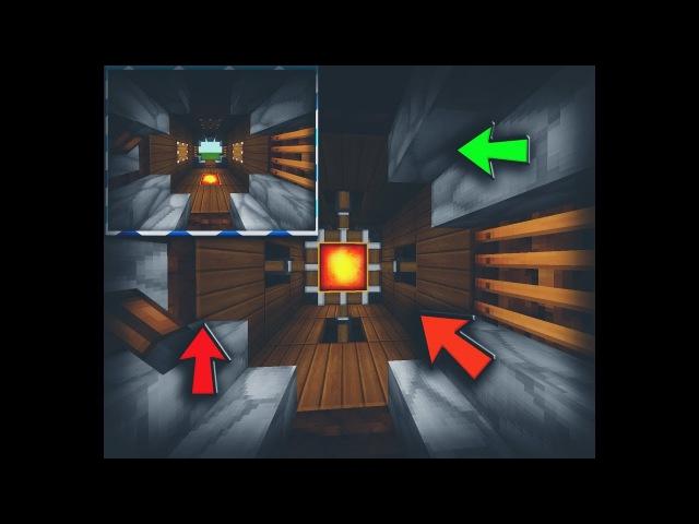 ✔ДЕКОРАТИВНАЯ ДВЕРЬ 3Х3 В Minecraft PE (Механизмы в майнкрафт пе)