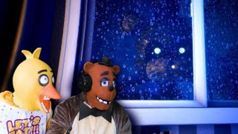 Самый страшный ФНАФ РЕАКЦИЯ Чика и Фредди играют во FNAF the Joy of creation СКРИМЕРЫ анима...