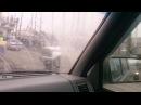 Авария в г. Ульяновск на нижней террасе Жесть 27.03.2016