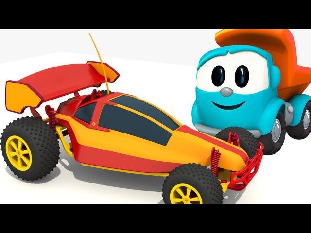 Léolecamion - Construction d'une voiture de course🏎️ - Dessin animé en français pour enfants