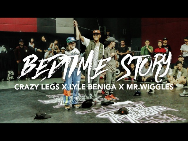 Bedtime Story GoldLink Crazy Legs x Lyle Beniga x Mr Wiggles Summer Jam Dance Camp 2017