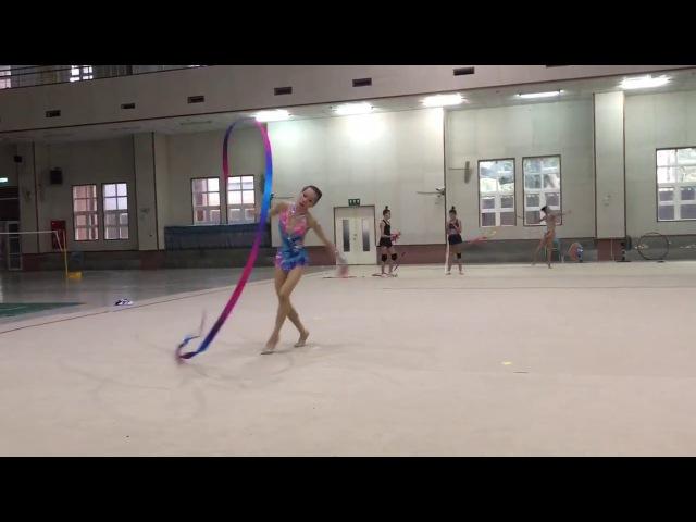 Taiwan RG 2017 Ribbon master class Elizaveta Nazarenkova