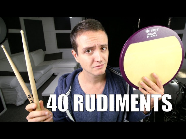 All 40 Rudiments - Daily Drum Lesson