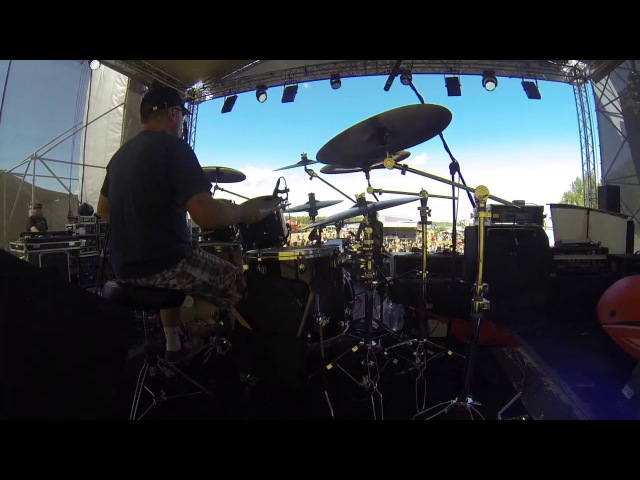 Александр Смирнов - Путь Солнца - Ни Шагу Назад (drumcam snippet)