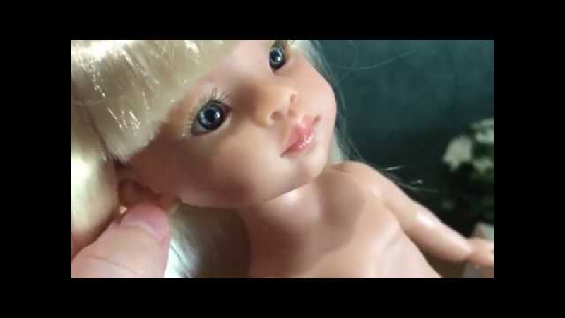 Распаковка и обзор куклы от Paola Reina, 32см ( Новинка 2017г.)