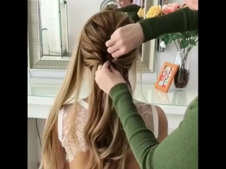 Прекрасная потрясающая ВЕЛИКОЛЕПНАЯ коса 💗