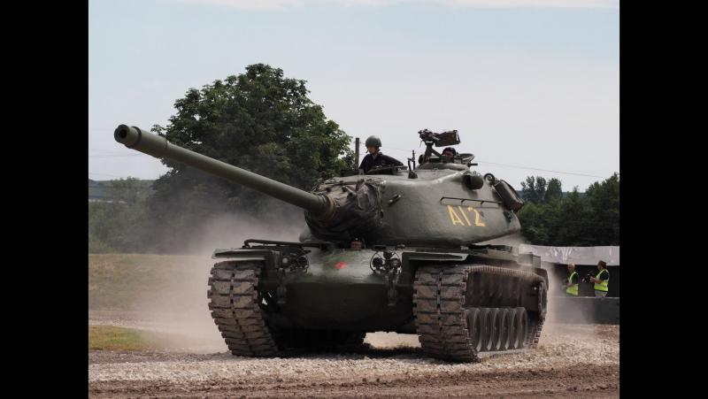 Загляни в реальный танк М103. Часть 3 . В командирской рубке