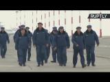 В Астрахани сегодня встретили наших воинов, вернувшихся из Сирии
