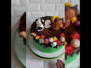 Торт Котенок по имени гав