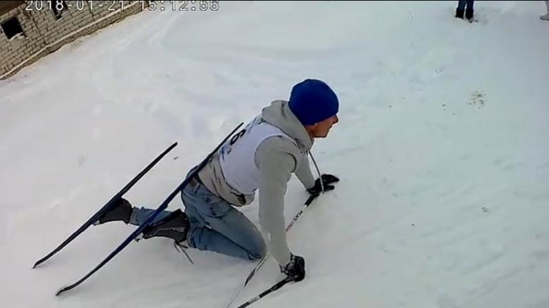 5-я Зубцовская лыжня с высоты.