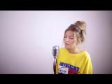 Отличный кавер песни Post Malone - rockstar - Sofia Karlberg Cover