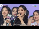 [рус.саб] 171128 The Show Lovelyz - Twinkle 1st Win Encore
