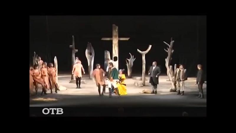 Гастроли Тбилисского русского драматического театра