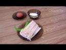 Грибы эноки(золотые нити) жареные в кляре(金针菇煎餅). Mushrooms enoki fried in batter