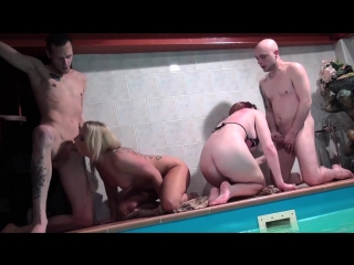 Lula Boobs And Sonja - World Pool Party [All Sex, Hardcore, Blowjob, Gonzo]
