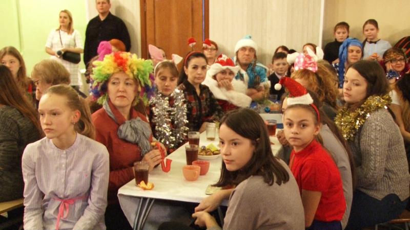 Ученики 48 школы встретили Старый Новый год