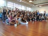 Macumba dance fitness Training, Rome february 2018
