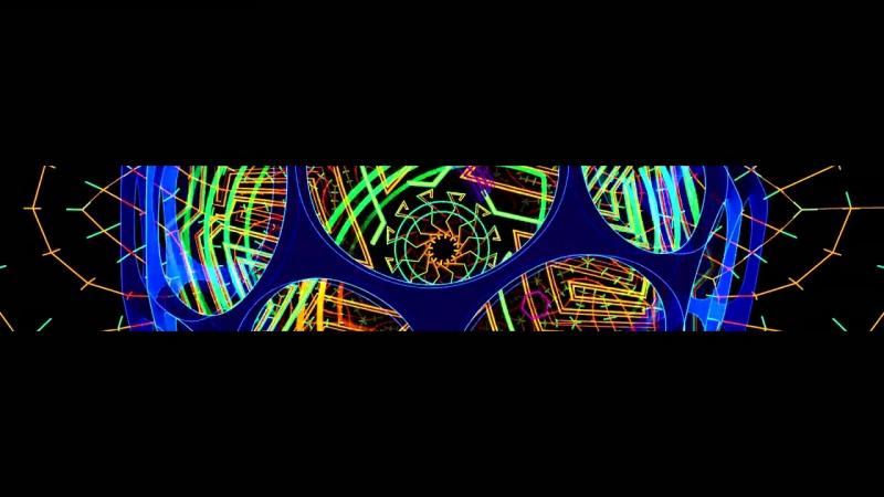 4k widescreen visual live demo mix - Holographic Sandbox (2014) by TAS