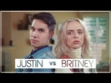 Sam Tsui &amp Madilyn Bailey &amp KHS - Justin Timberlake vs. Britney Spears (MashUp)