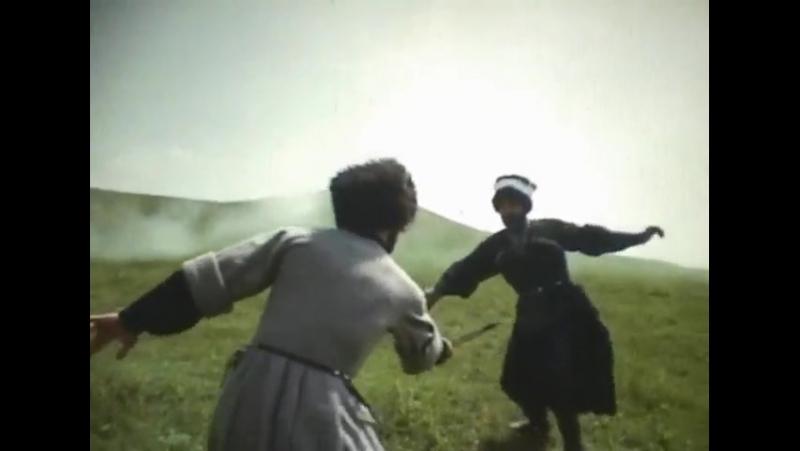 Бой на кинжалах. Сцена из фильма Горец (1992 г.)