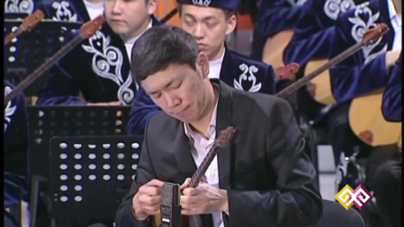 Жәнібек Жәмиев (домбыра), Қалыбай Мамытов(гитара) - Қосбасар ІІ (Қаршыға Ахмедьяров)