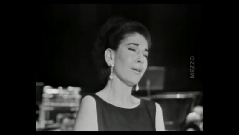 Мария Каллас – Кадры прижизненной хроники; Арии Ah! non credea mirarti (опера Сомнамбула Беллини), O mio babbino caro.