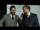 Ричард Ранкин интервью на дорожке BAFTA Scot 2017