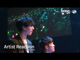 2016MAMA X M2 Artist Reaction (Реакции Артистов на MAMA 2016)