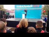 Навальный на митинге в Оренбурге- Я НИКОМУ НЕ БУДУ ПРОЩАТЬ ДОЛГИ