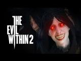 Девушка проходит The Evil Within 2 ночью