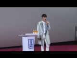 180301 EXO Lay Yixing @ Idol Producer 2018 Behind the Scenes
