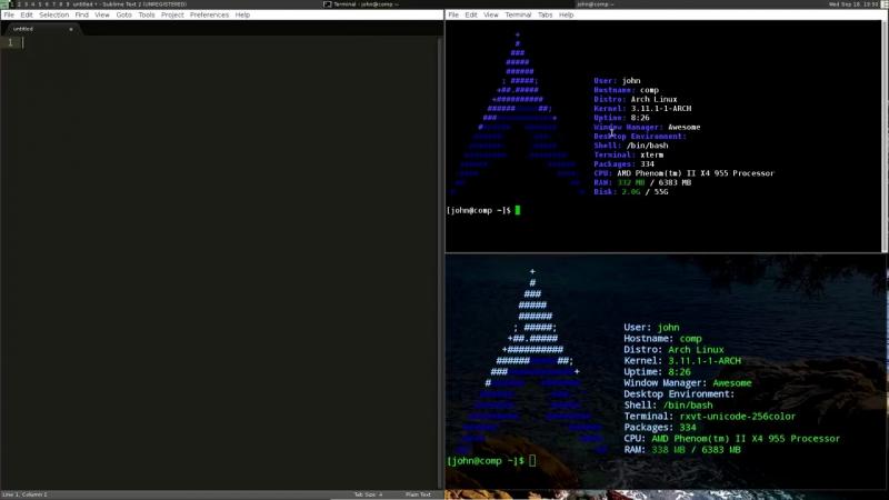 Буферы обмена в Linux