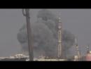 Syria: Dozens Airstrikes on Irbin Damascus one with cluster bombs 31.12.17