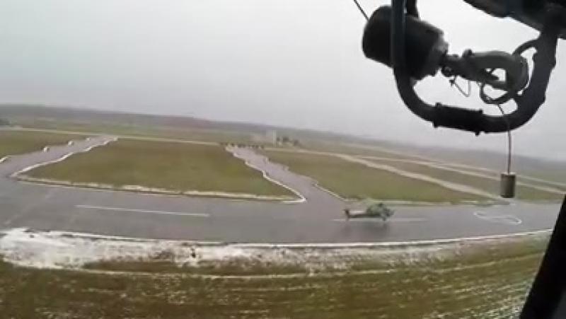 Перебазирование Ми-28УБ в Центр боевого применения и переучивания летного состава армейской авиации. У вертолета Ми-28УБ двойная