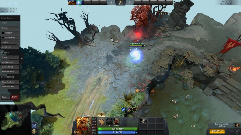 Lifestealer can get a free scepter from IO