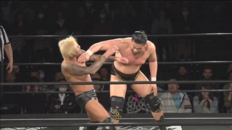 Kazusada Higuchi vs. Yukio Sakaguchi (DDT - D-Ou Grand Prix 2018 in Shinjuku)