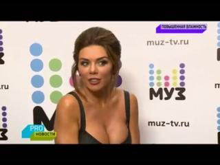 Анна Седокова - PRO Новости на МУЗ ТВ (10.07.2017)