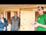 Баня 5х6 из рубленного бревна с верандой от компании Строим Дом Мечты отзыв заказчика