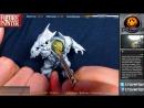 Painting an Orruk Megaboss Part 1 The Face