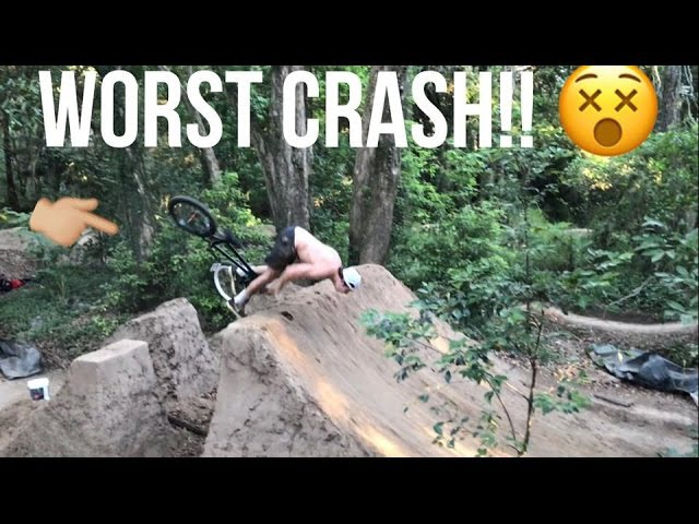 CRAZY CRASHES!! - DAILY SESSIONZ 18!! @ Inala and Bloodgum Trails