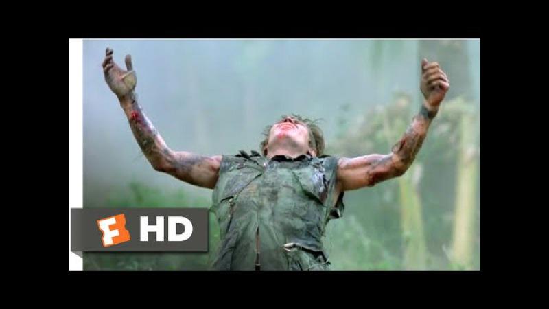 Platoon (1986) - The Death of Sgt. Elias Scene (7/10) | Movieclips