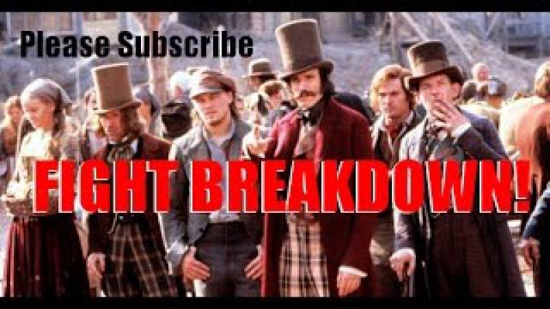 Fight Breakdown from Gangs of New York - Vallon vs McGloin