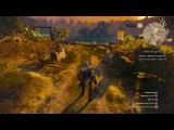 Ведьмак 3 Дикая Охота - Навык Вихрь  Spin attack