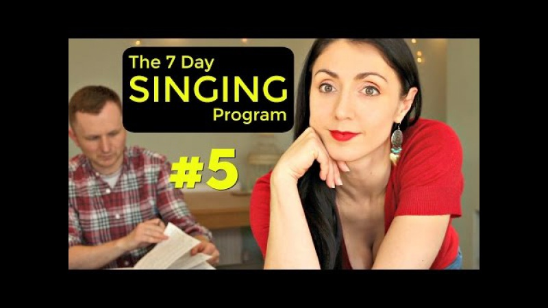 VOCAL ACCURACY: Day 5 Weekly SINGING EXERCISE Program