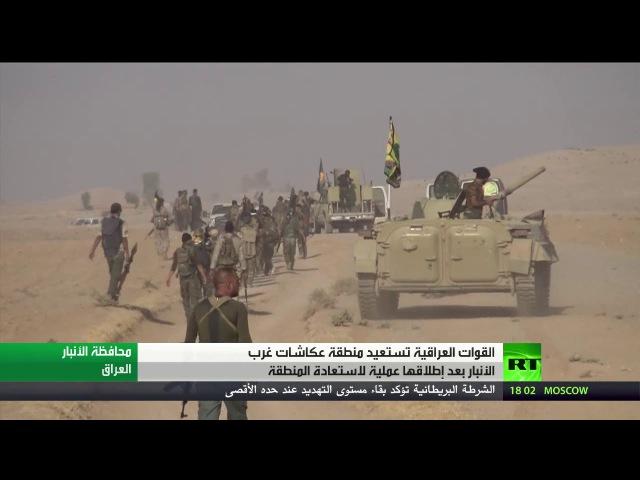 Военные Ирака полностью освободили от ДАИШ приграничный район Акашат