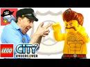 🚓 LEGO CITY UNDERCOVER 7 БЕШЕНЫЙ РЕКС Жестянка ЛЕГО СИТИ Андерковер