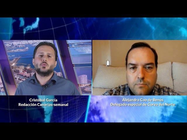 Entrevista a Alejandro Cao de Benós, delegado especial de Corea del Norte (1ª parte)