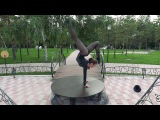 Contortion solo act Alina Alexandrova